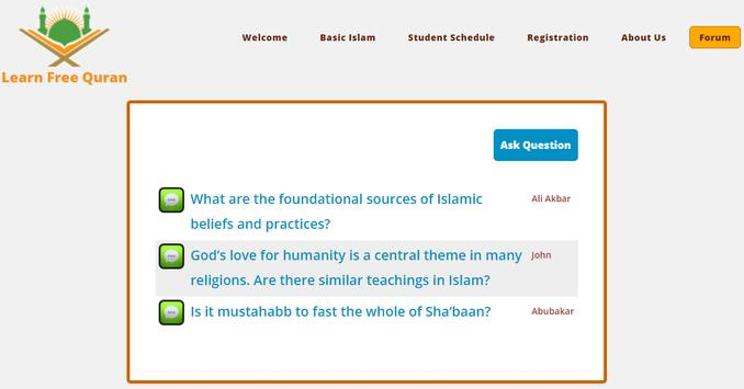 Learn Free Quran with Tutor screenshot 4