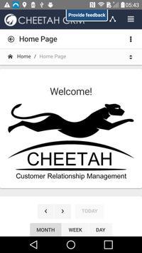 Cheetah CRM poster