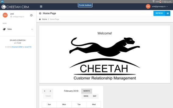 Cheetah CRM screenshot 4