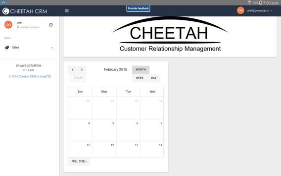 Cheetah CRM screenshot 9