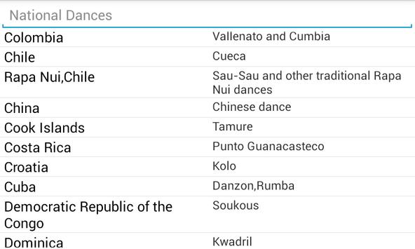 National Dances apk screenshot