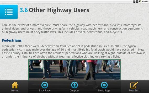 Delaware Driver Manual Free screenshot 5