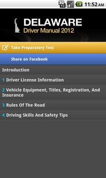 Delaware Driver Manual Free poster