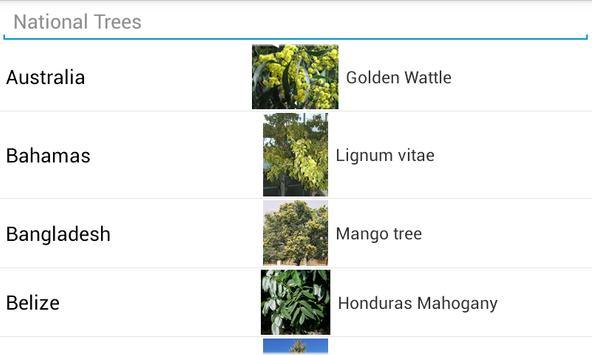 National Trees apk screenshot