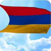 3D Armenia Flag Live Wallpaper icon