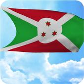 Burundi Flag Live Wallpaper icon