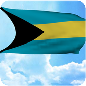 3D Bahamas Flag Wallpaper Free icon