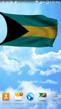 3D Bahamas Flag Wallpaper Free screenshot 4