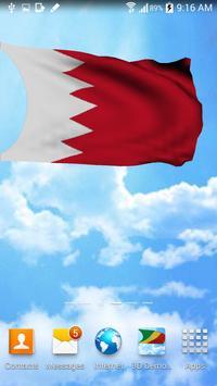 3D Bahrain Flag Wallpaper Free apk screenshot