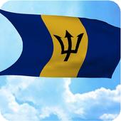 Barbados Flag Live Wallpaper icon
