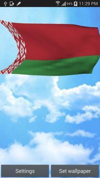 Belarus Flag Live Wallpaper poster