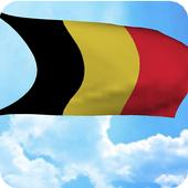 Belgium Flag Live Wallpaper icon