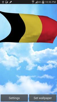 Belgium Flag Live Wallpaper poster