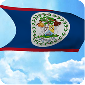 Belize Flag Live Wallpaper icon