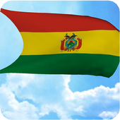 Bolivia Flag 3D Live Wallpaper icon