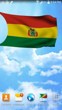 Bolivia Flag 3D Live Wallpaper apk screenshot