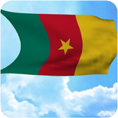 Cameroon Flag Live Wallpaper icon