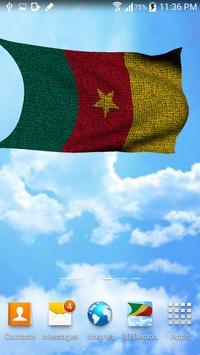 Cameroon Flag Live Wallpaper apk screenshot