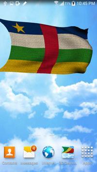 Flag Central African Republic apk screenshot