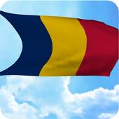 Chad Flag Live Wallpaper icon