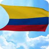 Colombia Flag Live Wallpaper icon