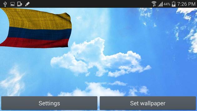 Colombia Flag Live Wallpaper screenshot 6