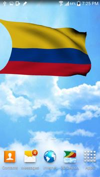 Colombia Flag Live Wallpaper screenshot 1