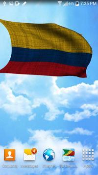Colombia Flag Live Wallpaper screenshot 2
