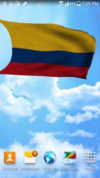 Colombia Flag Live Wallpaper screenshot 3