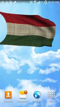 3D Hungary Flag Live Wallpaper apk screenshot