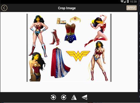 Wonder Woman Photo Editor and Wallpaper Frame 2017 apk screenshot