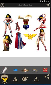 Wonder Woman Photo Editor and Wallpaper Frame 2017 poster