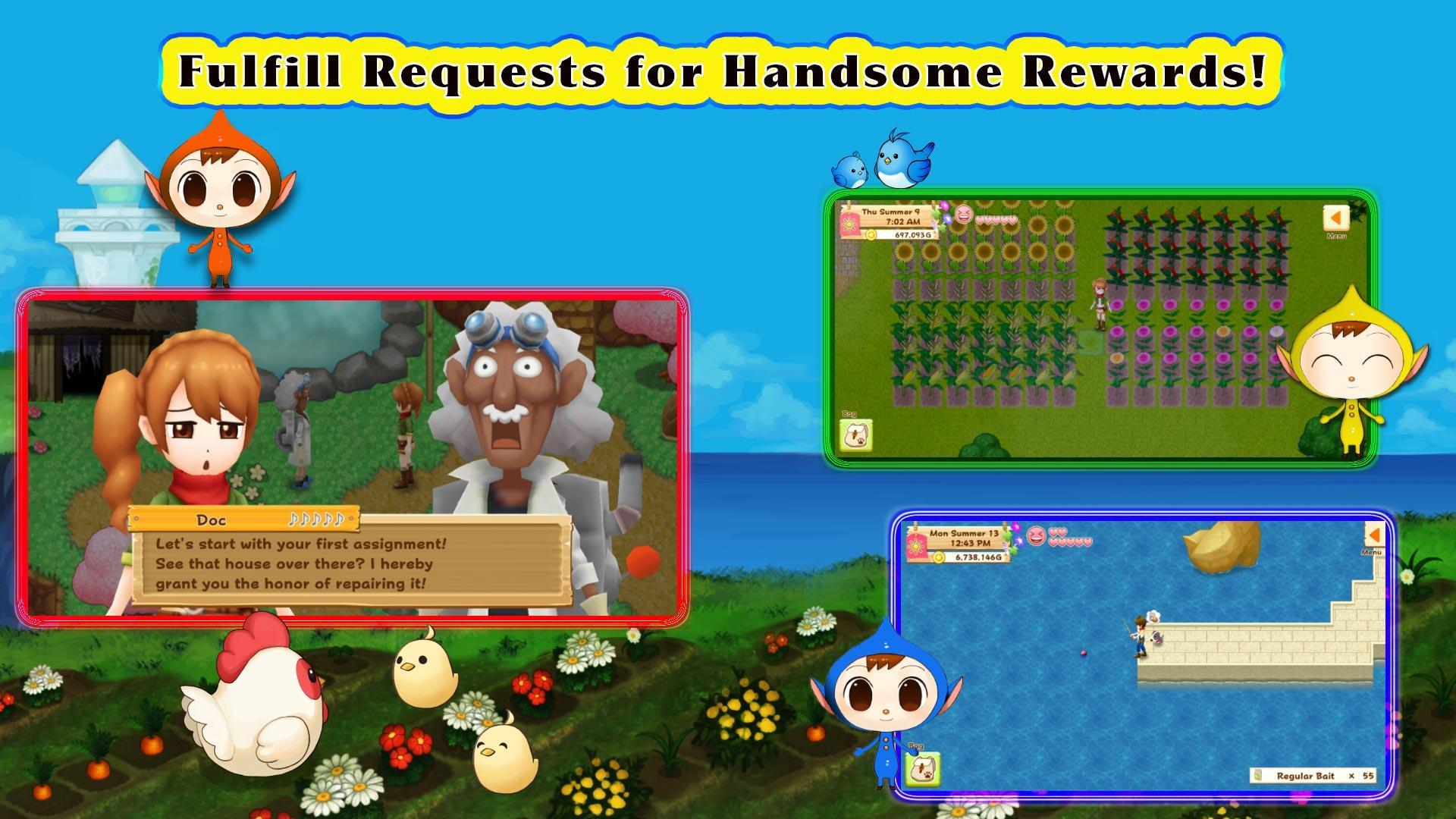 Harvest Moon: Light of Hope for Android - APK Download