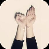 Korean tattoo icon