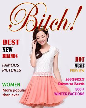 Magazine Frame poster