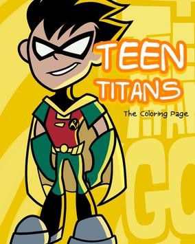 Teen Coloring Titans poster