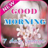 Good morning 7 day image icon