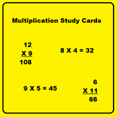 Multiplication Flash Cards icon