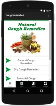 Natural Cough Remedies poster