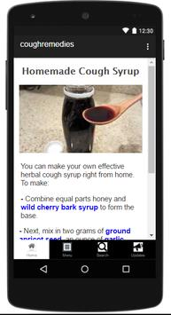 Natural Cough Remedies screenshot 1