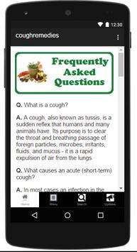 Natural Cough Remedies screenshot 2