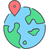 Natural Wonders Map icon