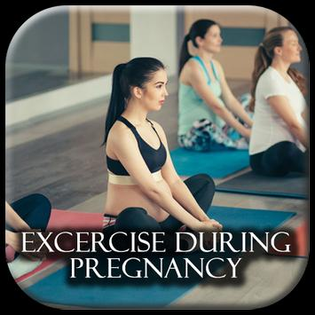 Excersise during pregnancy poster