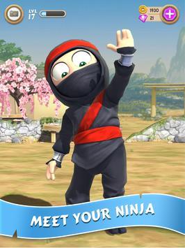 Clumsy Ninja 海報