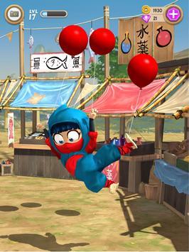 Clumsy Ninja स्क्रीनशॉट 2