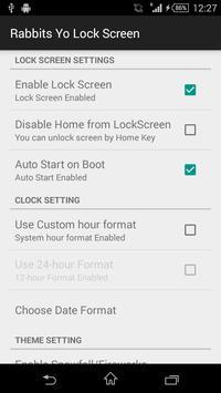 Rabbit Yo Locker HD apk screenshot