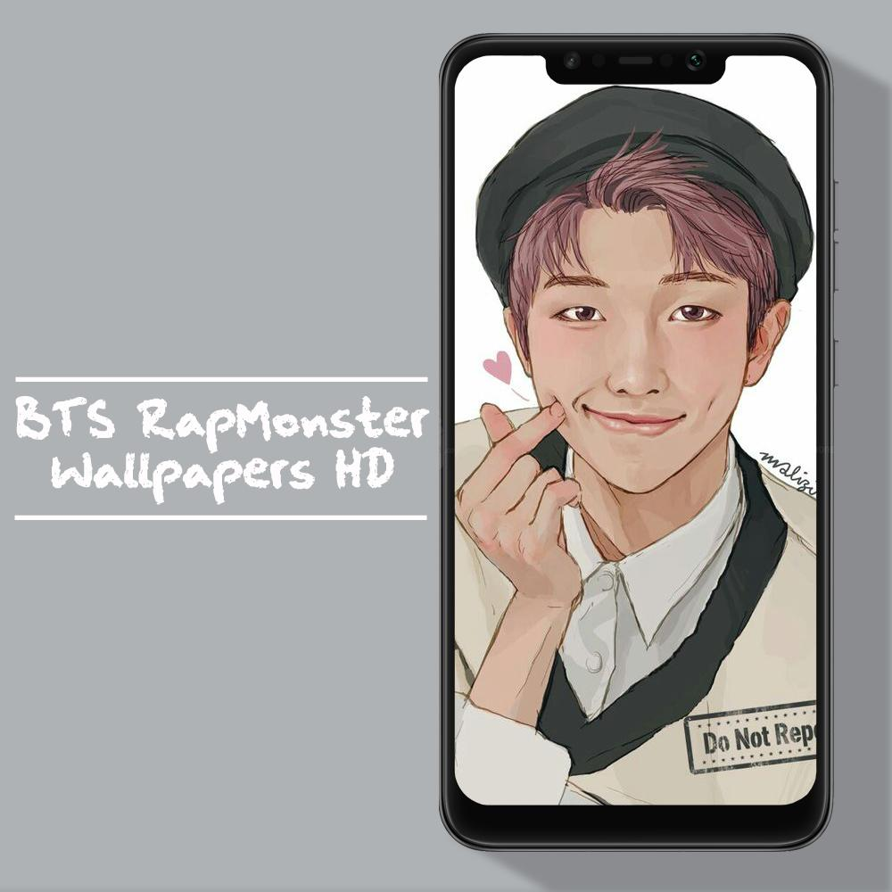 BTS Rap Monster Wallpapers Kpop Fans HD For Android APK