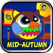 Angry Owl Mid Autumn icon