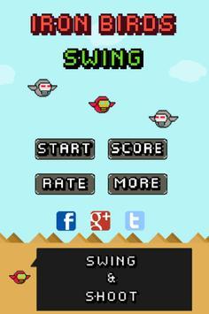 Swing Iron Birds poster