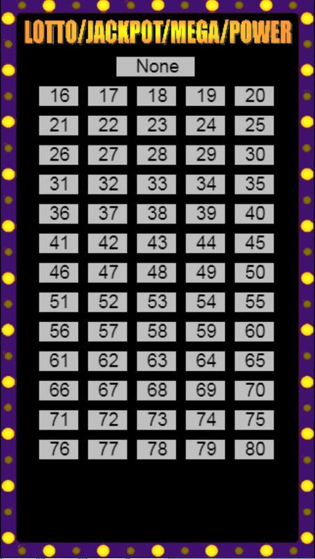Learn lottery machine